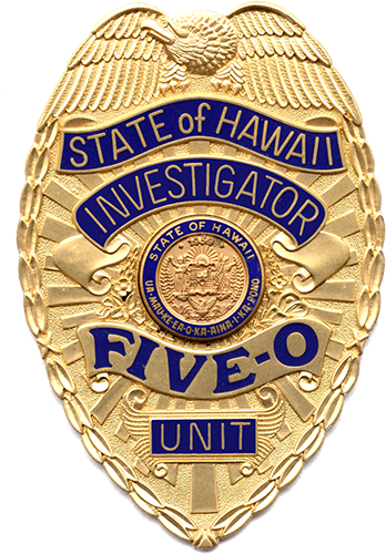 hawaii fiveo badge badges ex cetera