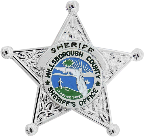 5 Point Florida Hillsborough County Sheriff S Star Badge
