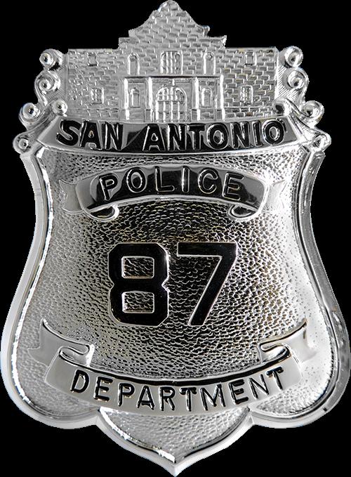 San Antonio Police Badge