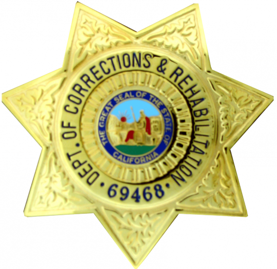 California Department of Corrections 7 Point Star