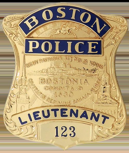 Boston Police Badge